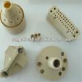 Peek, pes, pps, lcp, polietileno de alta densidad, grilamid de inyección de piezas o piezas mecanizadas