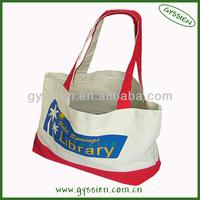 top sale customizable plain white cotton canvas tote bag