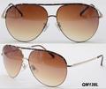 metal moda óculos de sol