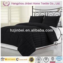 Solid 3cm Stripe Microfibre Duvet/Down Alternative Quilt/Polyester Comforter