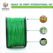 Magic 3D high quality HIPS filament 1.75mm/santa green color for 3d printers