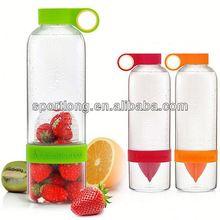 2014 hot selling lemon hot water bottle silicone in Korea
