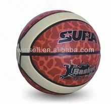 Hot selling modern sports/pu teaching leather basketball
