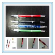 Top seller promotional metal stylus pen ballpoint pen