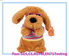 Electric plush dog toy