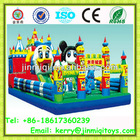 2014 New children inflatable park, inflatable jumping fun city, mickey park inflatable JMQ-P130B