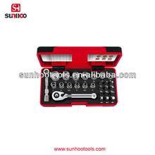 12-120-05 28pcs plastic box pack quick change drill bit set