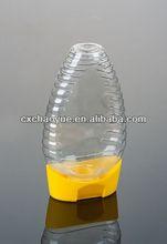 Plastic Pet Clear Invert Honey Bottle 400g can squeeze bottle