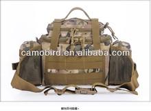 Mens Camobird Versatile Combination Shoulder portable Camo Canvas Purse Waist Pockets for Army Fans
