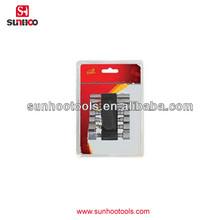 12-510-03 14pcs blister pack heavy duty socket wrench set