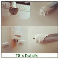 T8 LED LIGHT TUBE ROTATING END CAPS 10W/20W/30W