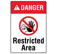 DANGER: Restricted Area - PS407
