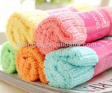 Super absorbent microfiber towels, cheap bath towels, multi-color bath towels