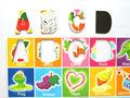 Funky Fun Colorful letras magnéticas y números imán de frigorífico Kid juguetes educación