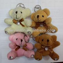 Russia hot-sale bouquet decoration diamond mini small teddy bear