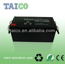 12V200AH AGM solar battery / 12V GEL deep cycle battery (for solar, ups, inverter etc)