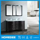 60 ''high end espresso oak wood wood bathroom furniture