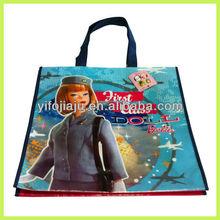 Cartoon handle bag/Eco-friendly pp bag bag/Laminated non woven bag from factory