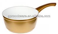 white ceramic sauce pan