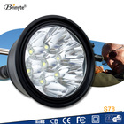 Rechargeable Powerful 7 CREE LED Heavy Duty Torch Light