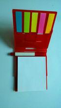 Mini Plastic Case with Pen Calendar Sticky Note