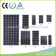 cerificated pv solar panel 120w,,3W-310W,ODM,OEM