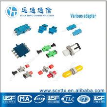 Fiber Optic Adapter (Coupler) for SC, FC, ST, LC Connectors SM / MM, Sx / Dx