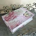 Chegada quente novo livro falso caixa estilo& atacado livro em forma de caixa de doces