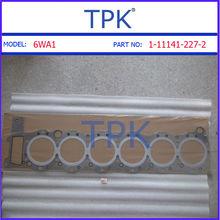 Isuzu 6WA1 Complete Top End Engine Gasket Kit Set 1-87811-110-2