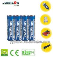 Environmental 1.5v lr6 parts dry cell battery aa alkaline