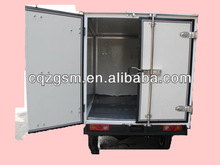 Cabin tricycle with closed cargo box/three wheel motorcycle
