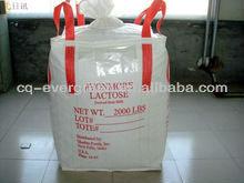 2014 NEW polypropylene woven bulk bag for packing wood pallet logs firewood manufacturer in China