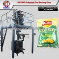 Automático de batatas fritas/chips de batata máquina de embalagem