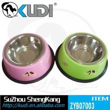 Pet bowl(stainless steel),dog food&water bowl ZYB-07003
