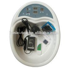 Sağlık ve güzellik kaplıca wth-103 iyon ayak banyosu detoks makine, spa ayak temizlemek