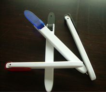 Novel Bookmark Ball Pen With Folding Clip