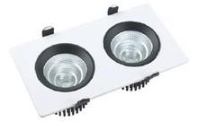 double led square downlight COB