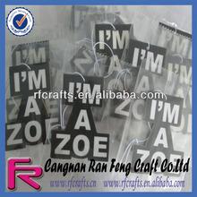 2014 Logo Printed Custom Die Cut Car Paper Air Freshener