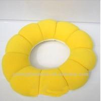 Multi function cute doughnuts bean bag neck pillow