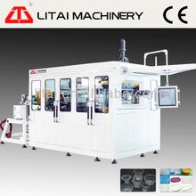 TQC-650B Litai brand price automatic plastic ps cup machine yoghurt