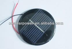 Factory price OEM round small solar panel