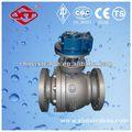 regulador de agua de la temperatura de la ducha de la válvula de gas natural válvula de bola del muñón montado en la válvula de bola de diseño
