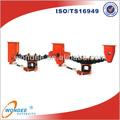 De China BPW zapatas de 2 eje tipos de remolque suspensión