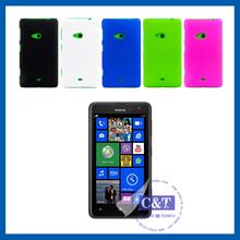 C&T Plastic PC Rubberized hard case shell for nokia lumia 625