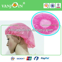 Cheap Colorful Shower Ear Cap for Disposable Use