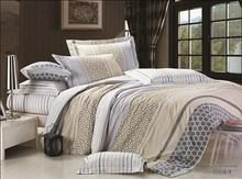 poly cotton 3pcs printed printed bed sheeting nantong