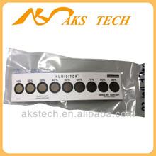 10% - 90% cobalt dichloride humidity sensor card