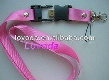 lanyard usb flash memory heart usb flash memory LFN-300