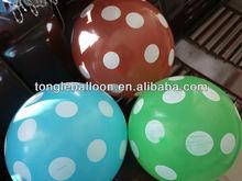 round shaped latex balloons