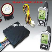 two way motorcycle alarm manual with LCD remote control, alarmas para motos